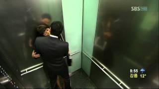 getlinkyoutube.com-태양의 신부 송유하-연미주-엘리베이터 속 키스