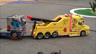getlinkyoutube.com-Rc Trucks @ Leyland - JANUARY 2017 Part 1 - AMAZING !!! Tamiya Rc Scale Truck Carson Wedico Bruder