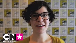 getlinkyoutube.com-Interview met Rebecca Sugar | Steven Universe | Cartoon Network