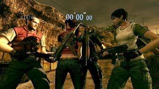 getlinkyoutube.com-Resident Evil 5 Mod - Merc Edition Leon e Claire e Barry e Rebecca