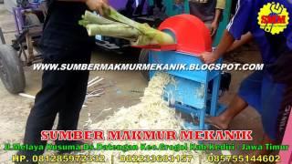 getlinkyoutube.com-Mesin Pencacah Gedebog Batang Pisang - Perajang Pelepah Batang Pohon Pisang Murah