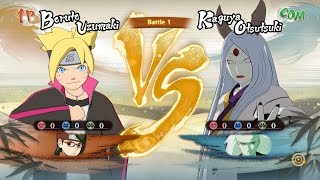 getlinkyoutube.com-Boruto and Sarada Vs Kaguya Otsutsuki- Naruto Shippuden: Ultimate Ninja Storm Storm 4