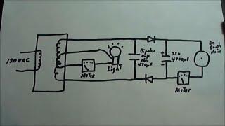 getlinkyoutube.com-Bifilar Double Loaded Coil - Motor vs Light
