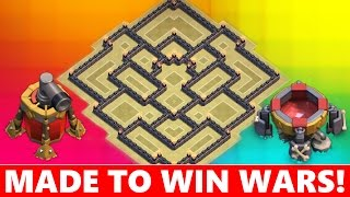 getlinkyoutube.com-BEST TOWN HALL 8 (TH8) WAR BASE DEFENSE! ANTI HOG, ANTI AIR, ANTI GOLEM ATTACKS NEVER SEEN BEFORE!