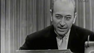 getlinkyoutube.com-What's My Line? - George Raft (Nov 29, 1953)