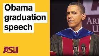 getlinkyoutube.com-Obama at ASU: Commencement Speech with intro by Michael Crow
