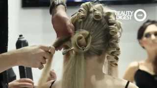 getlinkyoutube.com-Georgy Kot Hair tutorial. Rose.