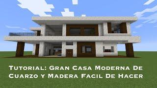 getlinkyoutube.com-Tutorial: Gran Casa Moderna De Cuarzo y Madera Facil De Hacer (PT1)