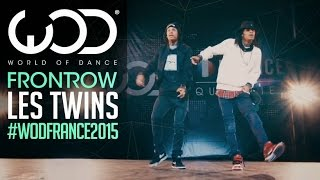 getlinkyoutube.com-Les Twins   FRONTROW   World of Dance France Qualifier 2015   #WODFrance