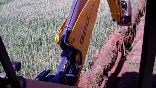 getlinkyoutube.com-Digging sewer trench