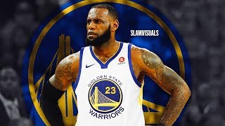 LeBron James Joins Golden State Warriors After Christmas Day Loss (Parody)