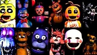 getlinkyoutube.com-Evolution of Five Nights at Freddy's: All Jumpscares 1-4
