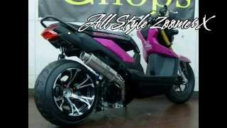 getlinkyoutube.com-The best moto honda zoomer x 125 | zoomer 125fi compilation new motocycle
