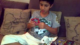 Opening 52 packets of cricket attax 2012 part 1