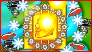 getlinkyoutube.com-THE ULTIMATE TEMPLE OF THE MONKEY GOD! - Bloons TD Battles Strategy - STRONGEST MONKEY TEMPLE EVER!