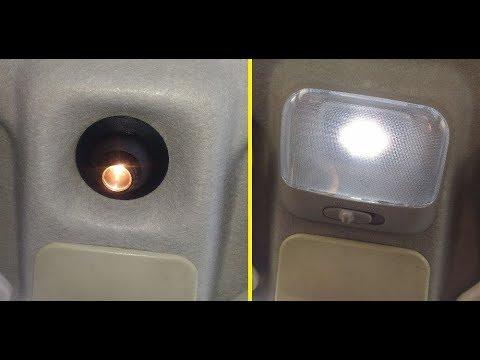 Как улучшить салонный свет в ваз 2110=11=12. Ланос плафон