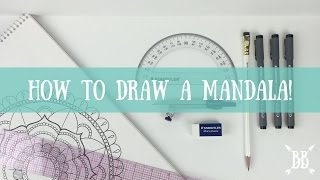 getlinkyoutube.com-How to Draw a Mandala