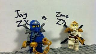 Lego Ninjago: Jay ZX vs Zane ZX