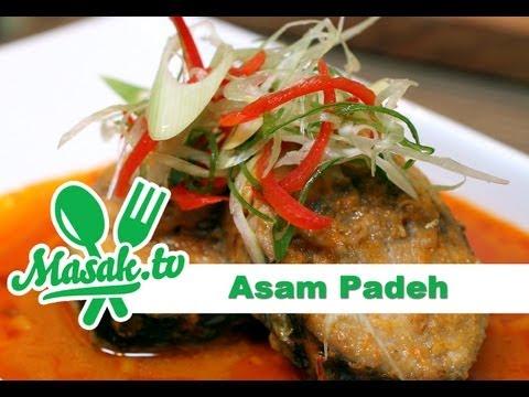 Ikan Tongkol Asam Padeh | Resep #095