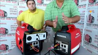getlinkyoutube.com-Honda EU2000i Generator Demonstration on Honda Eu2000 Parallel Kit at RV Parts Country