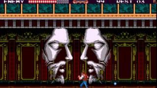 getlinkyoutube.com-[Mega Drive] 『バンパイアキラー』 Castlevania Bloodlines ~ Full no Damage/no Subweapon Run (Expert Mode)