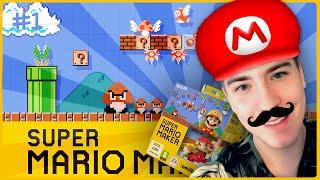 getlinkyoutube.com-Super Mario Maker: UNBOXING i 10 MARIO CHALLENGE [#1]