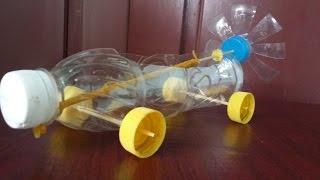 วิธีที่จะทำให้หนังยางรถขับเคลื่อน | โดยใช้ขวดพลาสติก