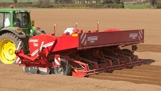 Grimme GL 660 potato planter with shaping boards