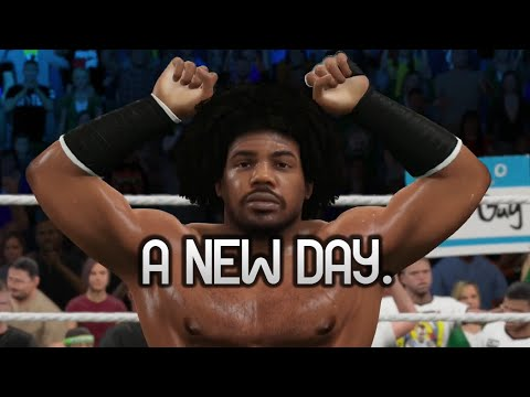 WWE 2K15 PS4 - The Usos vs A New Day (TAG MATCH)
