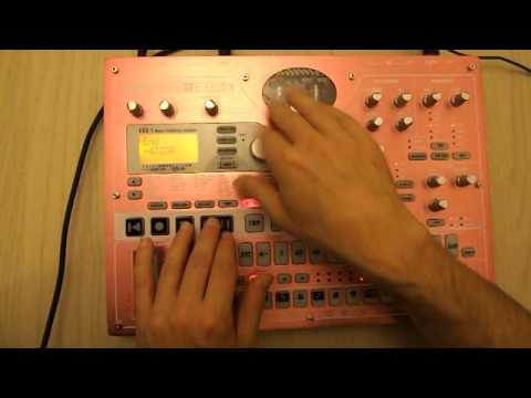 electribe esx turntable effects 101