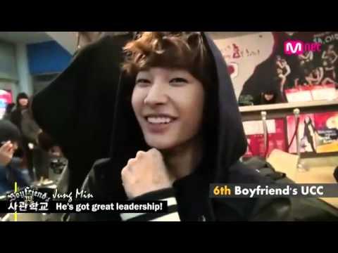 120216 Boyfriend's W academy - Jeongmin's Ucc #6