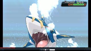 getlinkyoutube.com-Pokemon Oras! Mega Evolution Battle! Mega Sharpedo VS Mega Charizard!