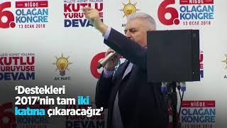 Başbakan Yıldırım: Türkiye milli mutabakatla büyümeye devam edecek