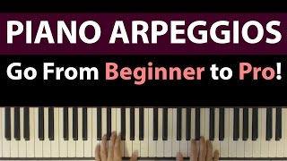 getlinkyoutube.com-Piano Arpeggios Tutorial, From Beginner to Pro - 6 Patterns To Inspire Your Playing