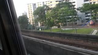 getlinkyoutube.com-SMRT Siemens C651 Buona Vista to Jurong East [F] towards Joo Koon