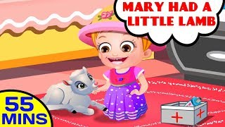 getlinkyoutube.com-Mary Had A Little Lamb | Nursery Rhymes Collection by Baby Hazel Nursery Rhymes