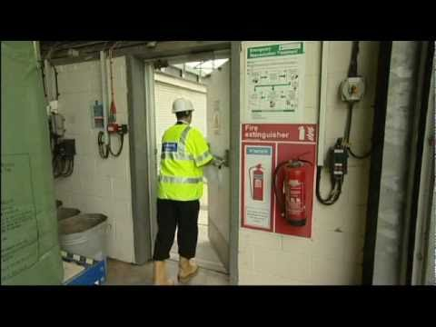 health and safety fire risk assessment video and dvd for Southern Water.avi
