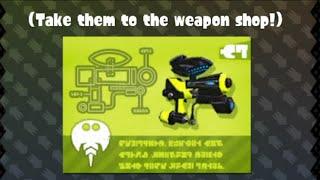 getlinkyoutube.com-Splatoon - Squid Amiibo Challenges - Getting The Weapon Blueprints