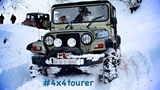 getlinkyoutube.com-Mahindra Thar- Snow Drive Expedition, Narkanda, India
