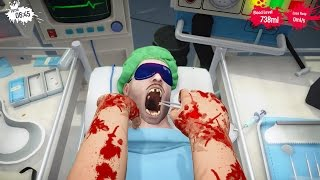 getlinkyoutube.com-Surgeon Simulator PS4 - PULLING TEETH!