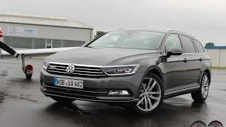 getlinkyoutube.com-Volkswagen Passat 2 0TDI Variant 4Motion DSG *2016* - POV UbiTestet