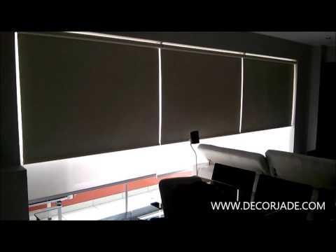 Cortinas motorizadas para salas modernas | Decorjade