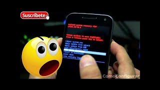 getlinkyoutube.com-Moto G 3ra Generacion 2015 Hard Reset Restablecer dispositivo al estado Fábrica