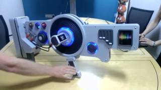 """getlinkyoutube.com-Life-Size DubStep Gun - Saint's Row WAD WAD Edition - """"You've Been Dubbed"""" - A GAME Exclusive!"""