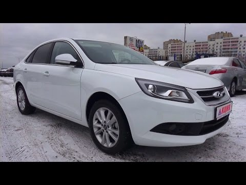2014 Chery Arrizo 7 (М16) MT Luxury. Start Up, Engine, and In Depth Tour.