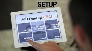 getlinkyoutube.com-AR.Drone 2.0 Tutorial video #1 : Setup