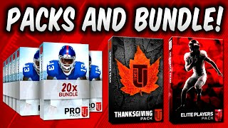 getlinkyoutube.com-MUT 16 Thanksgiving Pack 20 Pack Bundle Opening & Elite Player Exchange Pack Madden 16 Ultimate Team