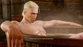 The Witcher 3 Naked Yennefer Cut Scene