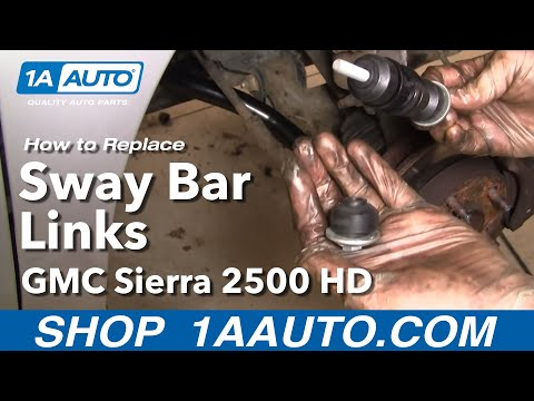How to Replace Sway Bar 97-05 Chevy Venture