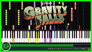 getlinkyoutube.com-IMPOSSIBLE REMIX - Gravity Falls Theme